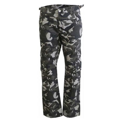 ST. LEONF kalhoty pánské DS20-3 kapsáče nadměrná velikost maskáče