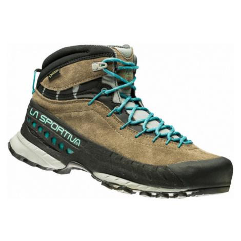 Dámské boty La Sportiva TX4 Mid Woman GTX taupe/emerald EU