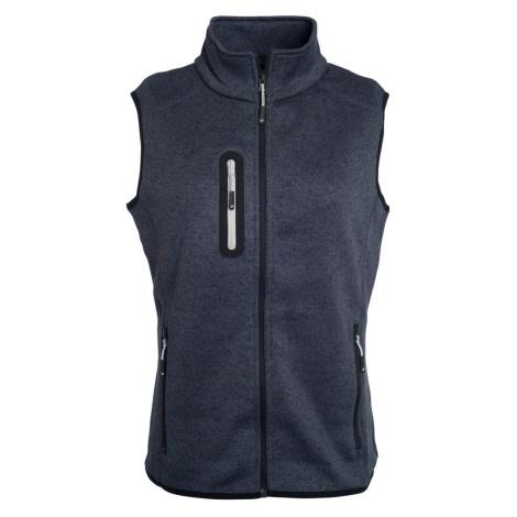 Dámská vesta z pleteného fleecu JN773 James & Nicholson