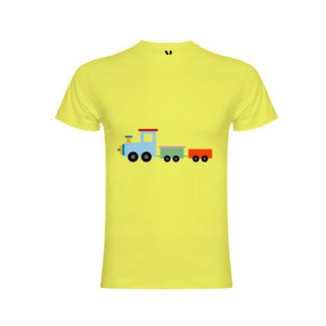 Pánské tričko Premium Kids train