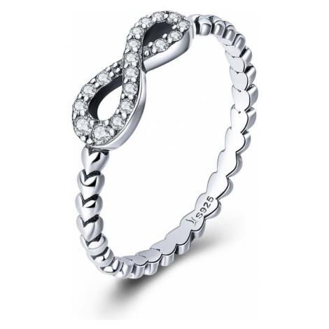Linda's Jewelry Stříbrný prsten Nekonečno IPR048 Velikost: 54