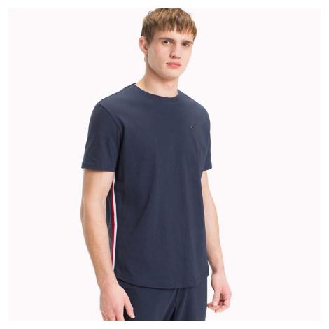 Tmavě modré tričko Modern Stripe CZ Tee Tommy Hilfiger