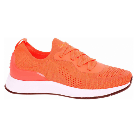 Tamaris dámské tenisky 1-23705-24 orange neon Oranžová