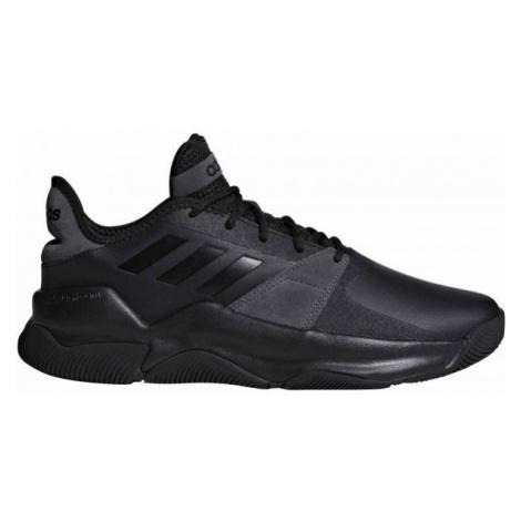 adidas STREETFLOW tmavě šedá 10 - Pánská basketbalová obuv