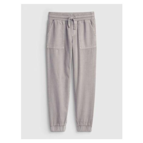 GAP Dětské kalhoty woven jogger