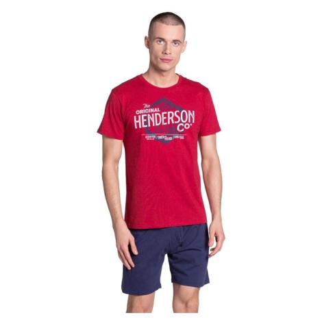 Pánské pyžamo Lars červené Henderson