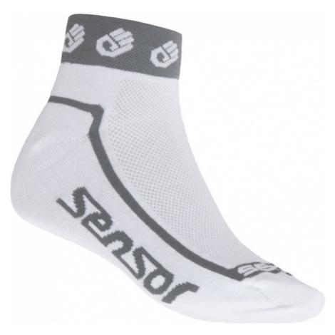 RACE LITE SMALL HANDS Sportovní ponožky 1041039 bílá Sensor