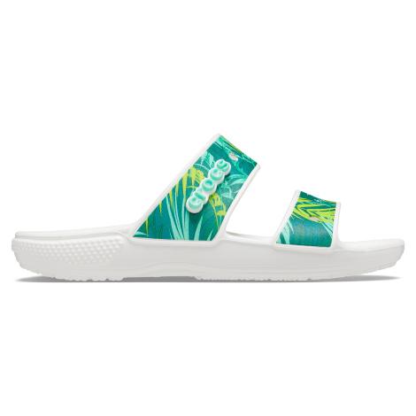 Crocs Classic Crocs Tropical Sandal Whi/Mlti