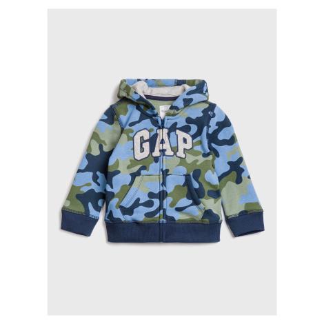 GAP modrá chlapecká mikina