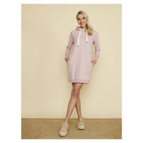 ZOOT růžové mikinové šaty Kirsten