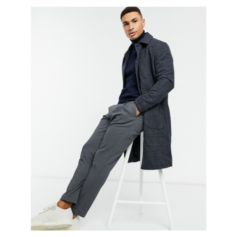 New Look checked jacket in grey