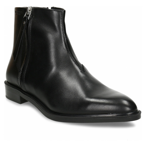 Kožená dámská kotníková obuv na zip Vagabond