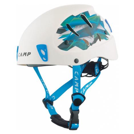 Přilba CAMP Armour white/light blue