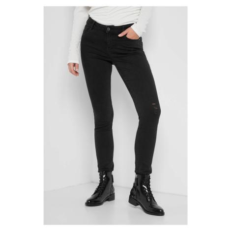 Skinny džíny s dírami Orsay
