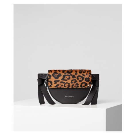 Ledvinka Karl Lagerfeld K/Ikon Leopard Belt Bag