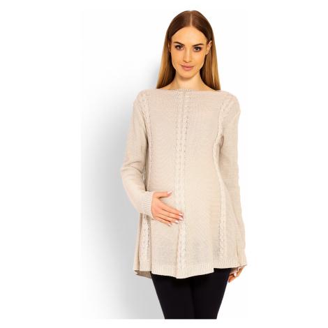 Těhotenský svetr model 114575 PeeKaBoo UNI