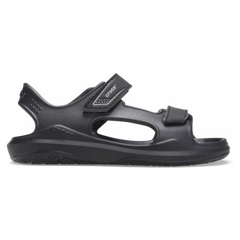 Crocs Swiftwater Expedition Sandal K Black/Slate Grey J5