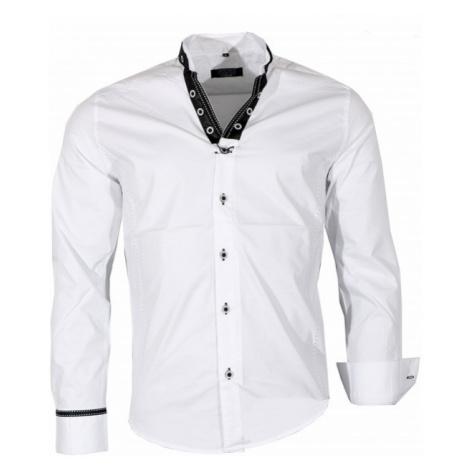CARISMA košile pánská 8019 dlouhý rukáv slim fit 8019