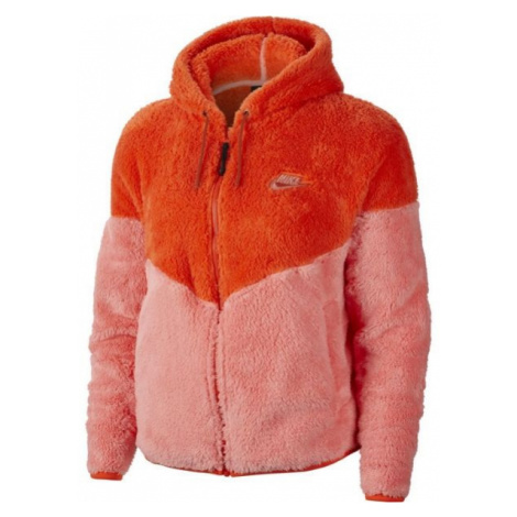 Nike NSW WR JKT WINTER W oranžová - Dámská mikina