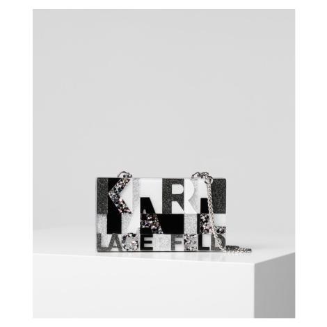 Eveningbag Karl Lagerfeld K/Karl Multi Glitt Minaudiere