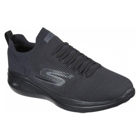 Skechers černé pánské tenisky Go Run Fast Monogram