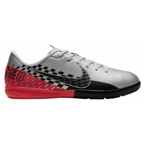 Nike JR MERCURIAL VAPOR 13 ACADEMY NEYMAR JR IC šedá - Dětské sálovky