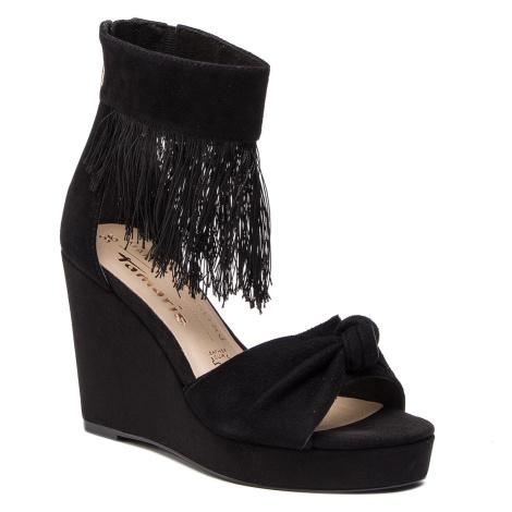 Sandály TAMARIS - 1-28311-22 Black 001