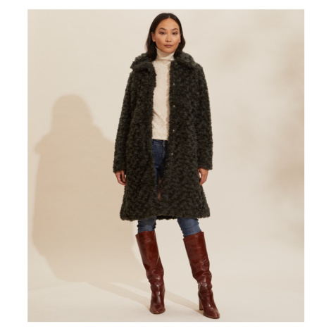 Kabát Odd Molly Amandine Long Jacket - Zelená