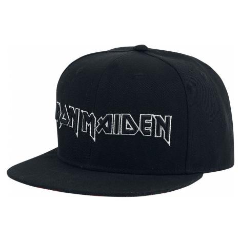 Iron Maiden Logo kšiltovka černá