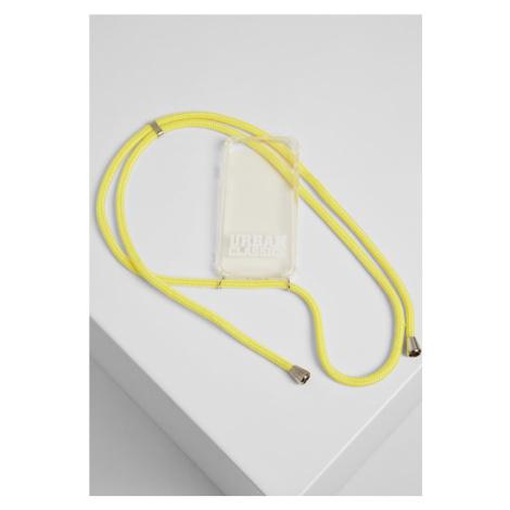 I Phone 8 Handy Necklace - transparent/yellow Urban Classics