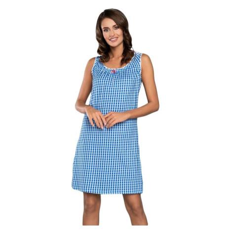 Noční košilka Kamila modrá Italian Fashion
