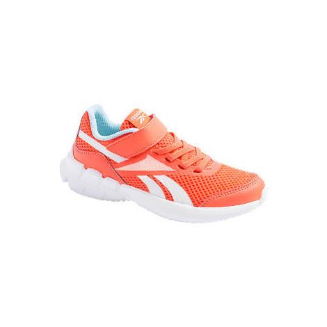 Oranžové tenisky na suchý zip Reebok Ztaur Run