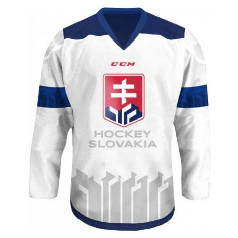 CCM DRES S VÝŠIVKOU LOGO SZLH 18/19 bílá - Hokejový dres