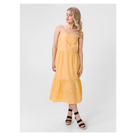 Halo Šaty Vero Moda Žlutá