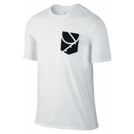 Tričko Nike Air Brand Bílá / Černá