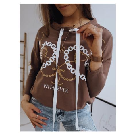 GIRLA women´s sweatshirt brown RY1577 DStreet