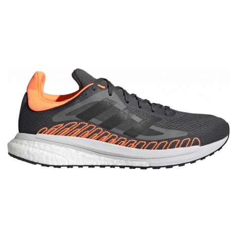 Běžecká obuv adidas SOLAR GLIDE ST 3 Šedá / Oranžová