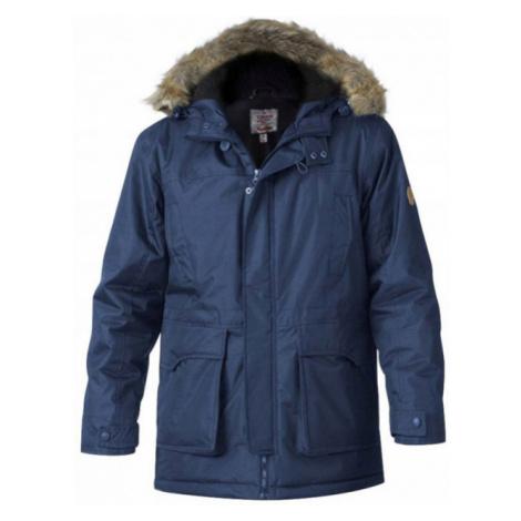 D555 bunda pánská LOVETT zimní parka nadměrná velikost Duke