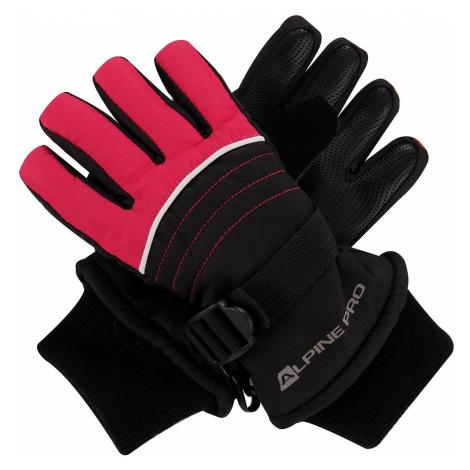 Dětské rukavice Alpine Pro KORIO - růžová