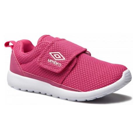Umbro SHERRATT JNR růžová - Dětská volnočasová obuv