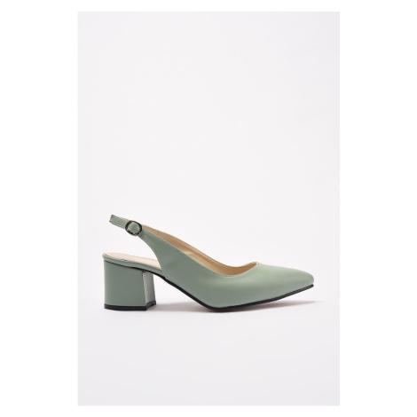 Trendyol Mint Women's Classic Heeled Shoes