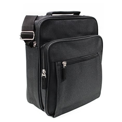 Černá pánská praktická crossbody taška Brent Tapple