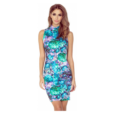 Květované šaty bez rukávů model 4977559 Morimia