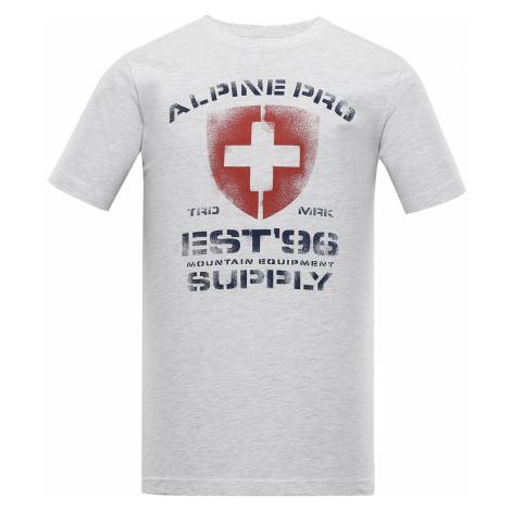 Pánské triko Alpine Pro DRACH - bílá