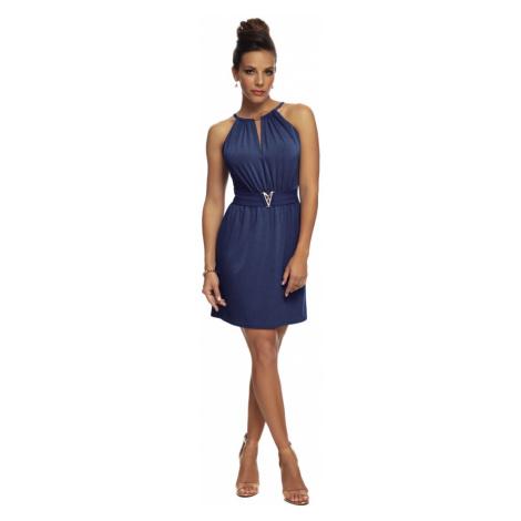 Dámské šaty Magistral Monaco D760 | hnědá
