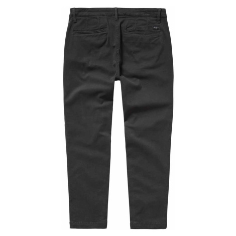 Kalhoty PEPE JEANS PL211235 MAURA CHARCOAL