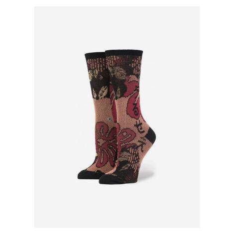 Rihanna Lotus Japan Ponožky Stance Růžová