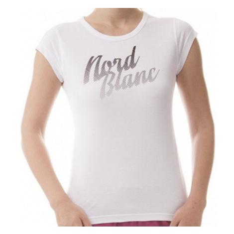 Tričko NordBlanc NBFLT5955 Nicer pure white