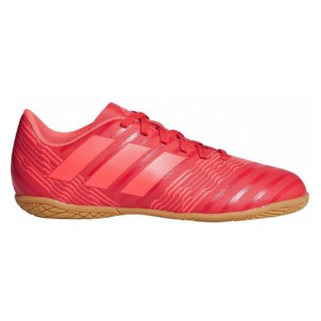 adidas NEMEZIZ TANGO 17.4 IN J červená - Dětská futsalová obuv