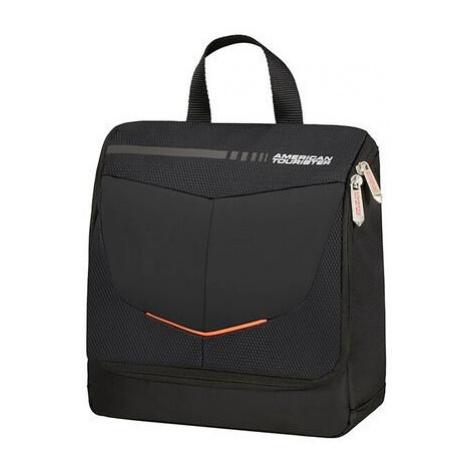 American Tourister toaletní taška s háčkem černý
